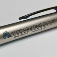 Печать на ручках M Consulting Group